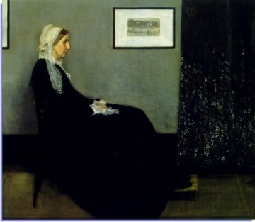 a painting popularly known as Whistler's Mother