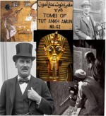 image collage Howard Carter