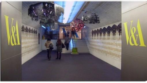 Image underground entrance V&A