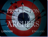 An Archers production filmshot